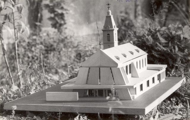 Makieta wykonana pod koniec grudnia 1974 roku