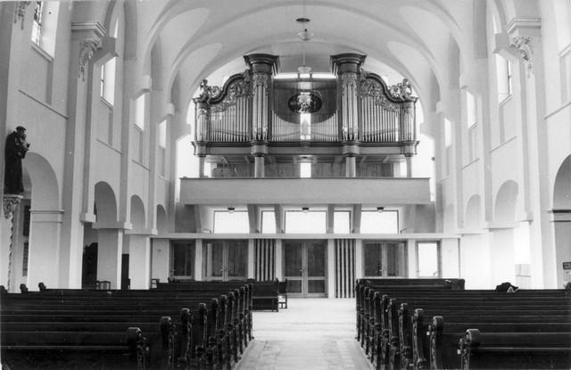 Widok na najmłodszą (tylną) część kościoła NSPJ
