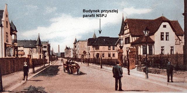 Ulica Grunwaldzka.